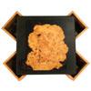 Theekistje 'brein' gemaakt van zwart mdf en kersenhout.